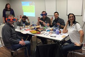 Secret Agent bespoke training workshop