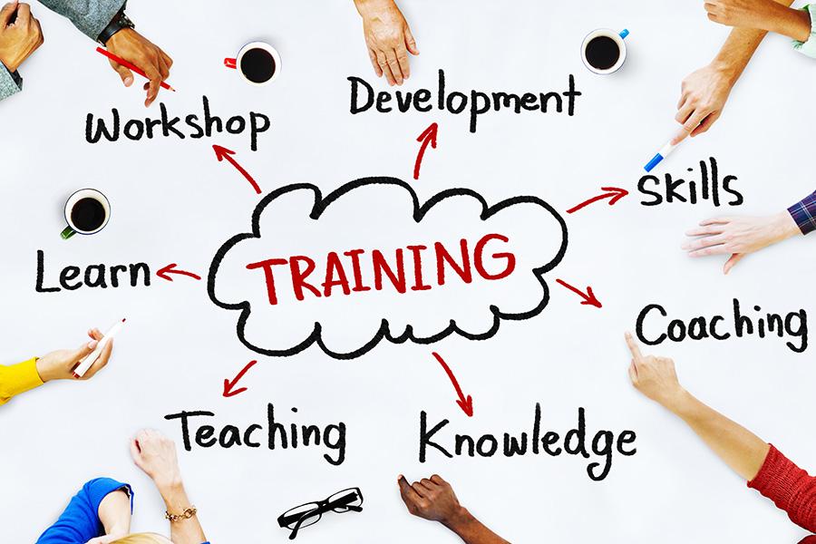 Trayna UK provide training workshops, management and supervisory staff development